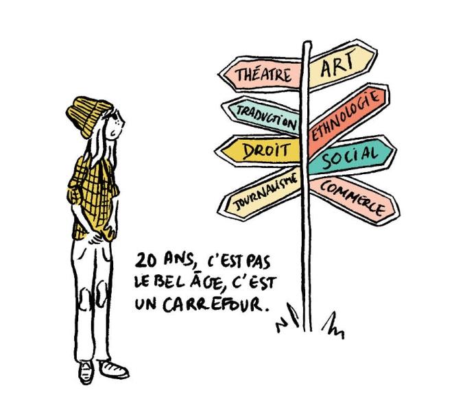 Pauline Aubry - Les mutants - carrefour