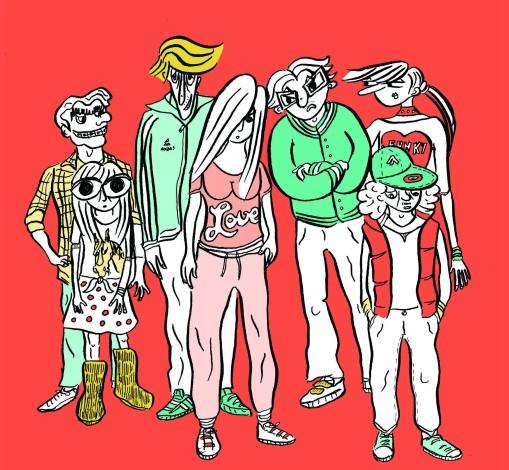 Pauline Aubry - Les mutants - groupe jeunes