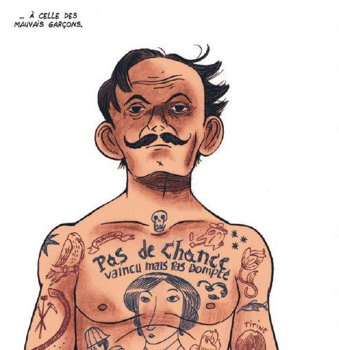 La petite bedetheque des savoirs - Le tatouage - Pierrat - Alfred - Mauvais garçon
