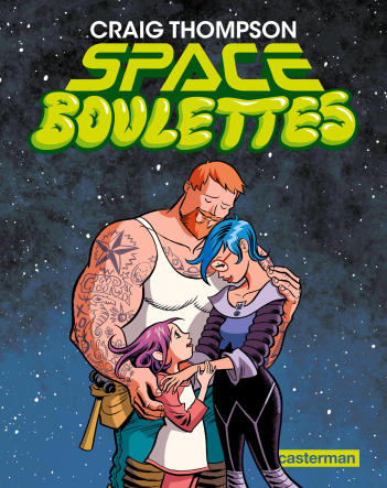Space Boulettes - Craig Thompson - Couverture