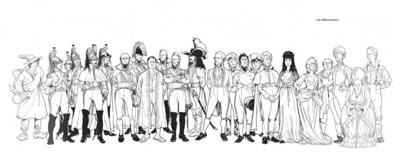 Berezina - personnages