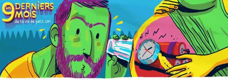 Cookie Kalkair - Les 9 derniers mois de ta vie de petit con - Les Arenes - ecoute du ventre