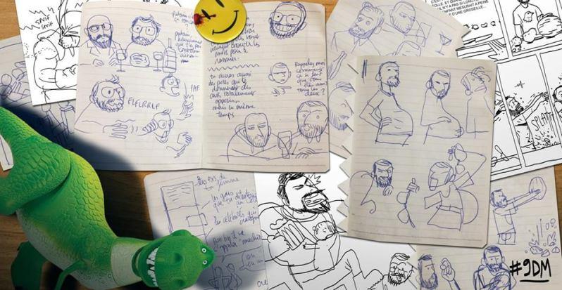 Cookie Kalkair - Les 9 derniers mois de ta vie de petit con - Les Arenes - Recherches
