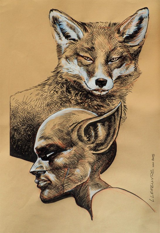 Fox-Boy - Laurent Lefeuvre - garcon renard 2
