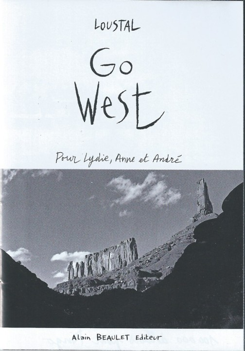 Go West - Loustal - Couverture