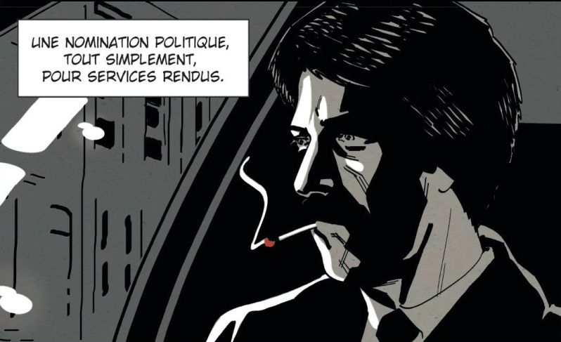 Homicide - Tome 1 - Simon - Squarzoni - personnage