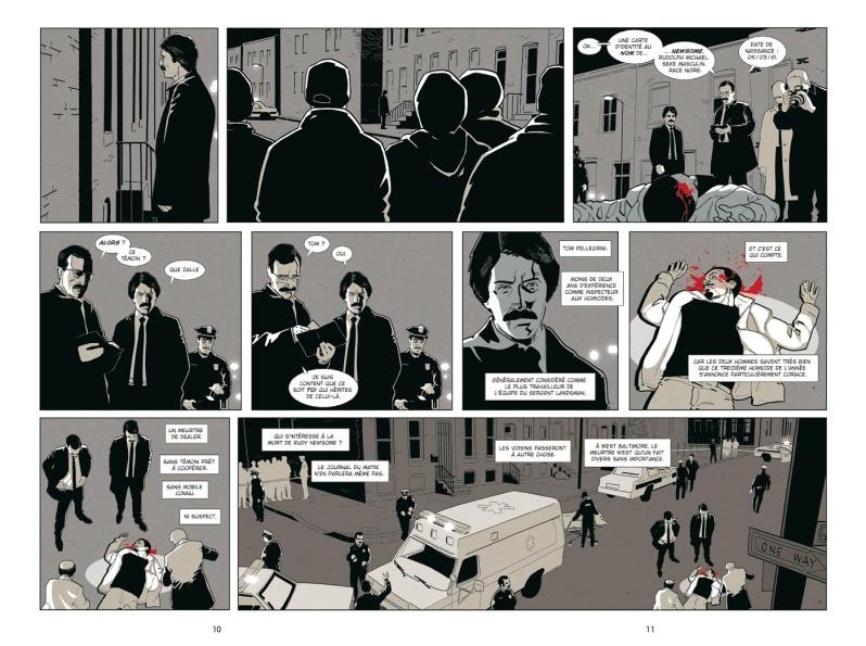 Homicide - Tome 1 - Simon - Squarzoni - Planches 7-8