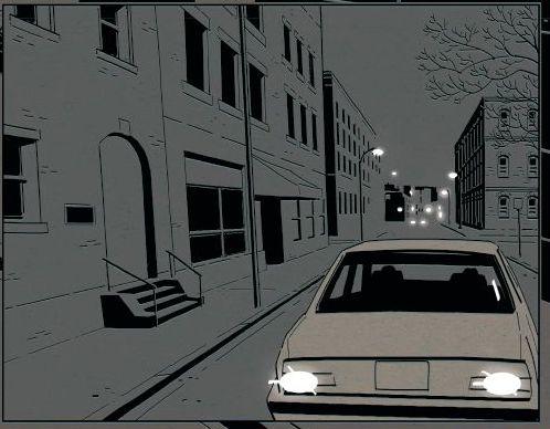 Homicide - Tome 1 - Simon - Squarzoni - voiture