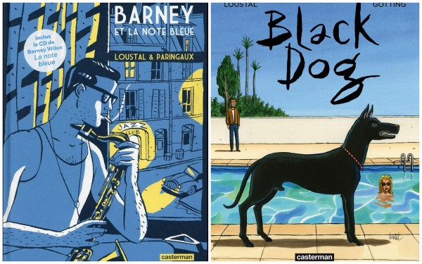 Interview - Loustal - Barney - Black Dog