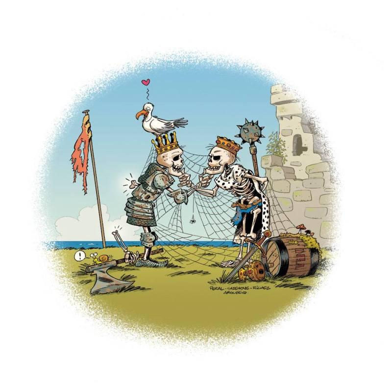 La guerre de cent ans - cazenove - richez - peral - barbichette
