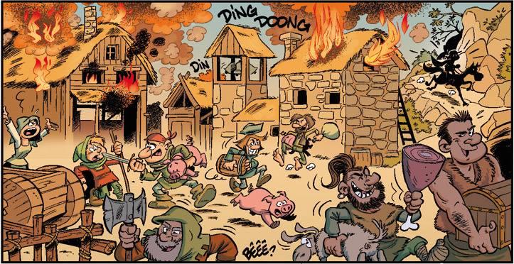 La guerre de cent ans - cazenove - richez - peral - incendie