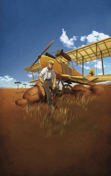 L'aviateur - Kraehn - Arnoux - Millien - Tome 1 - L'envol - portrait
