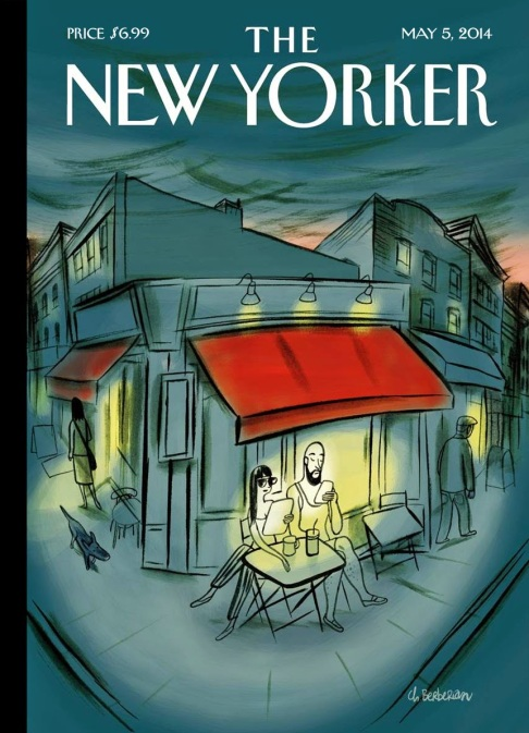 Le bonheur occidental - Charles Berberian - Fluide Glacial - the new yorker