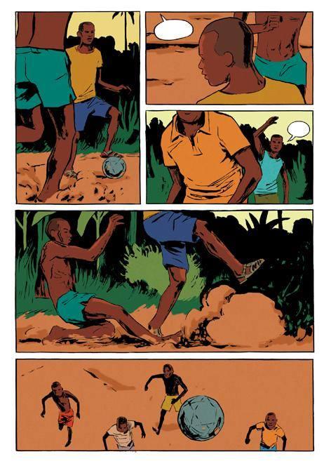 Le contrepied de Foe - Galandon - Vidal - foot cameroun