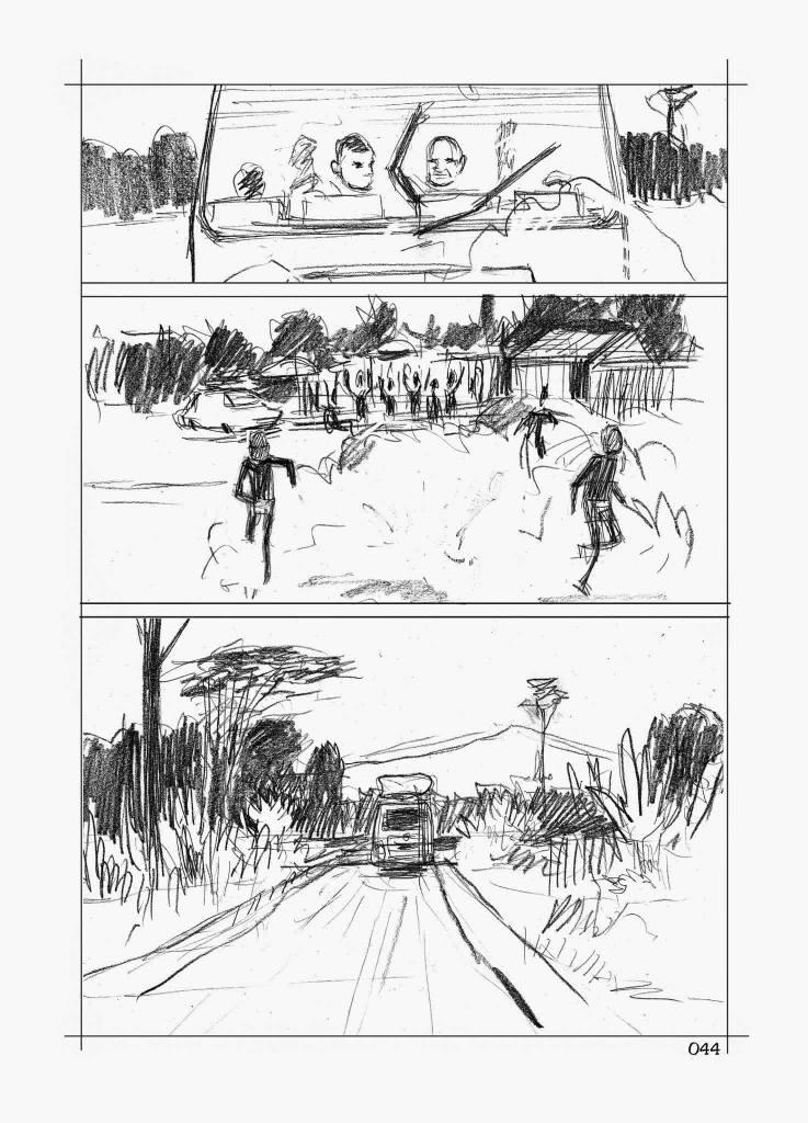Le contrepied de Foe - Galandon - Vidal - storyboard cameroun