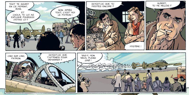 Le poids des nuages - Tome 1 - L'amie d'Eva Peron - Manini - Chevereau - heure de verité