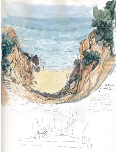 Les beaux etes - Tome 2 - La Calanque - Zidrou - Lafebre - calanque recherches