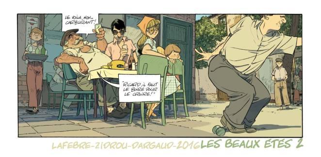 Les beaux etes - Tome 2 - La Calanque - Zidrou - Lafebre - Pastis