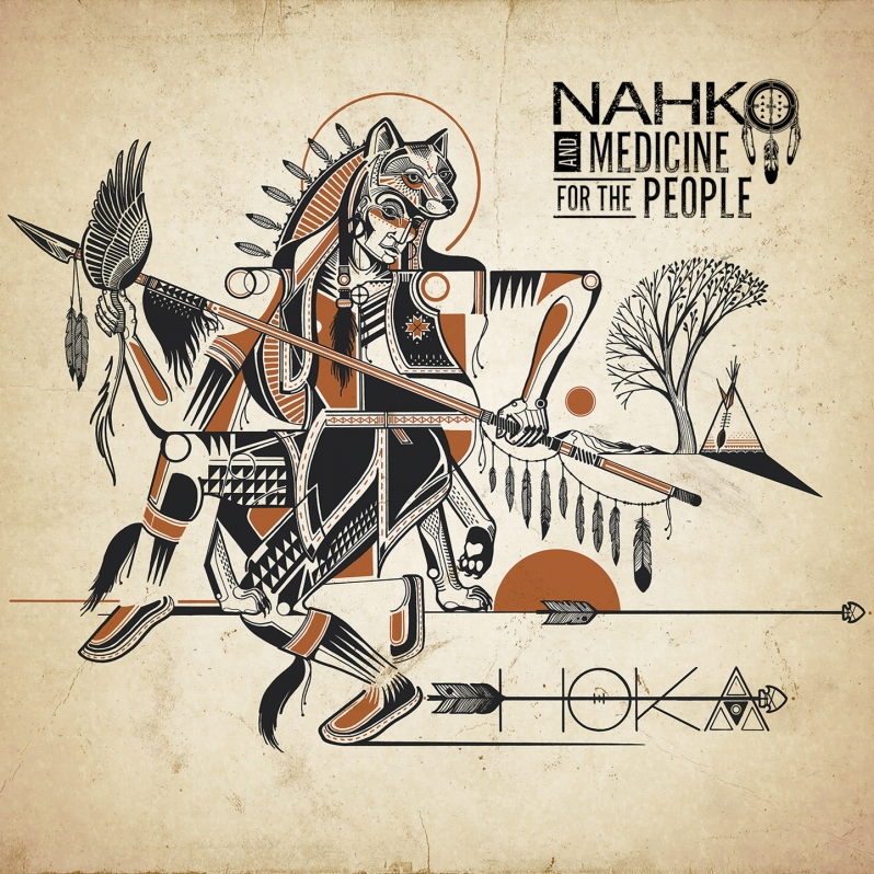 Nahko and Medicine For The People - Hoka - Cover 1440px