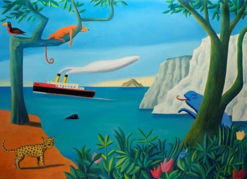 Pandora - Loustal - ile animaux