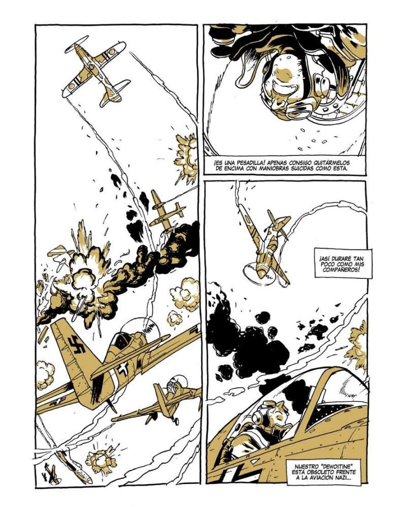 Insoumises - Ruben del Rincon - Javier Cosnava - combat aerien