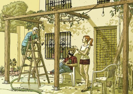 La Maison - Paco Roca - Terrasse