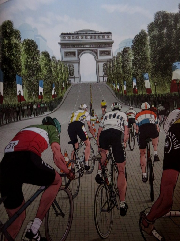 (c) Le tour de France, la bd officielle Ocula-Liera-Gerasi TJ Editions