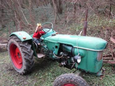 Lenon - Cocker - Floreffe - Deguisement - Etienne Dinant - tracteur