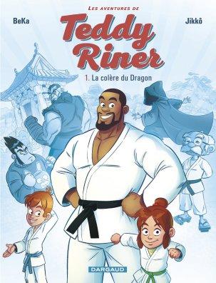 Les aventures de Teddy Riner - T.1 - La colere du dragon - Beka - Jikko - Couverture
