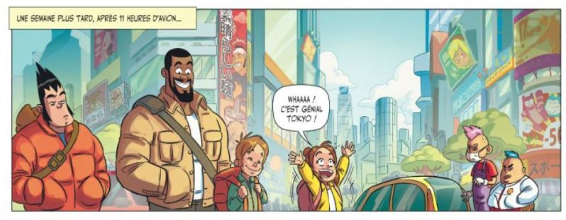(c) Dargaud - Beka - Jikkô -  Les aventures de Teddy Riner