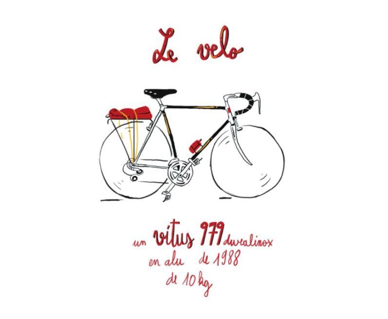 Tour de Belgique a velo - Monsieur Iou - vitus 979