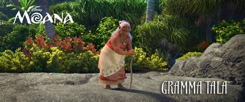 Vaiana - La légende du bout du monde - Gramma Tala