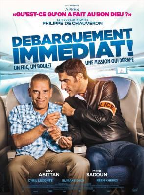 Débarquement immédiat - critique - Philippe de Chauveron - Saddoun - Abittan - Lecomte
