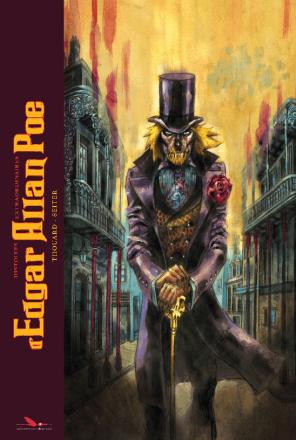 Histoires extraordinaires  d'Edgar Allan Poe - Seiter - Thouard - Long Bec - couverture