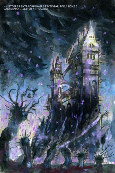 Histoires extraordinaires  d'Edgar Allan Poe - Seiter - Thouard - Usher