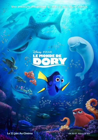 Le monde de Dory - critique - Stanton - Maclane - Disney Pixar