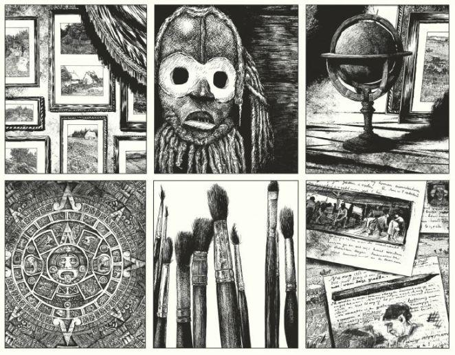 Le rapport de Brodeck - Manu Larcenet - t.2 - L'indicible - cabinet de curiosite