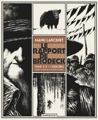Le rapport de Brodeck - Manu Larcenet - t.2 - L'indicible - Couverture