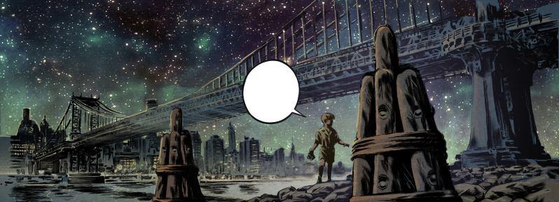 Les trois fantomes de Tesla - Marazano - Guilhem Bec - nuit