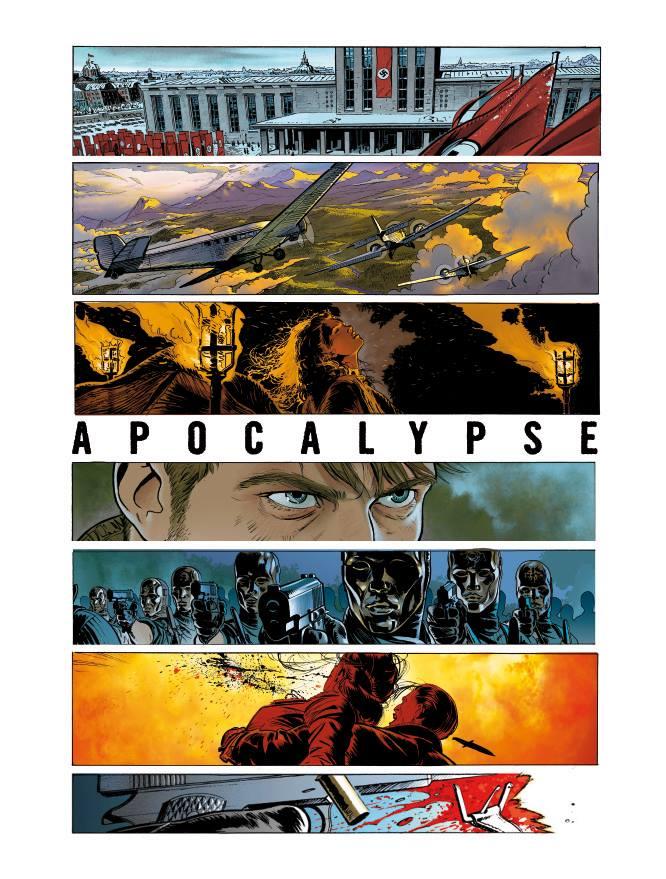L'heritage du diable - t.4 - Apocalypse - Jerome Felix - Paul Gastine - teaser