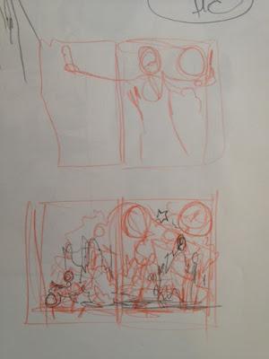 Red Skin - Terry Dodson - Rachel Dodson - Storyboard