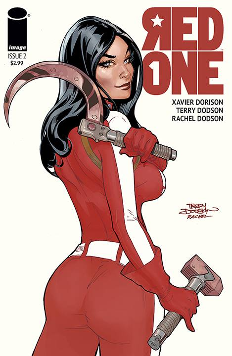 Red Skin - Terry Dodson - travail - couverture Image Comics
