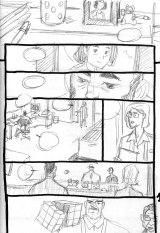 Storyboard de la planche 1 du tome 2 (c) Mathieu Reynès