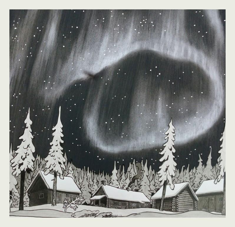 la-foret-des-renards-pendus-nicolas-dumontheuil-aurore-boreale