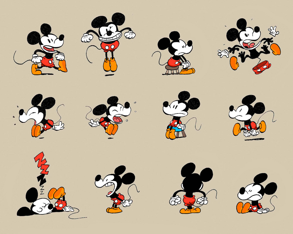 Recherches pour Mickey ©Tebo