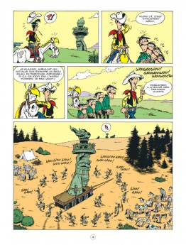 © Jul/Achdé/Mel chez Lucky Comics/Dargaud