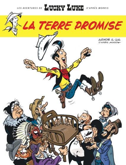 lucky-luke-terre-promise-jul-achde-couverture
