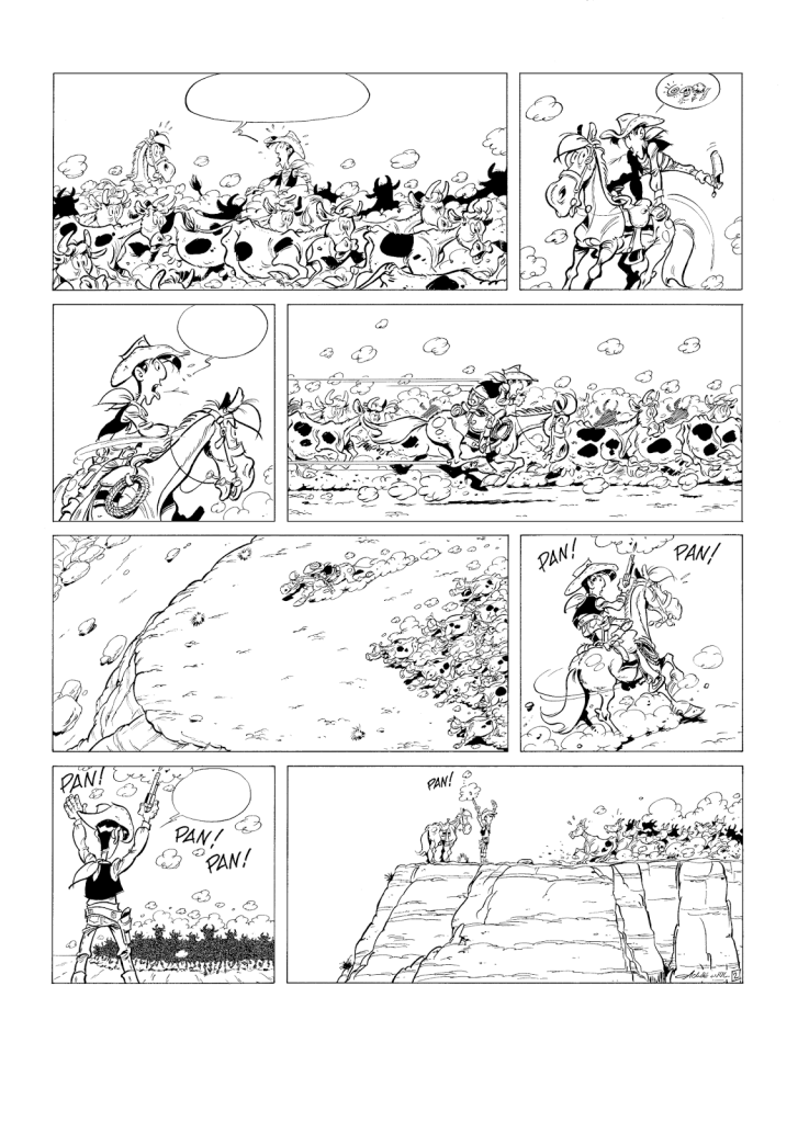 © Jul/Achdé chez Lucky Comics