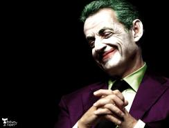Nicolas Sarkozy en Joker © Anthony Expert