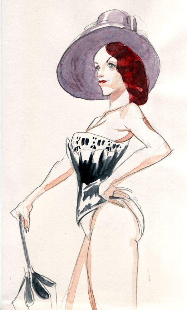 Modèle Vivant pour Dr Sketchy © Arthur De Pins
